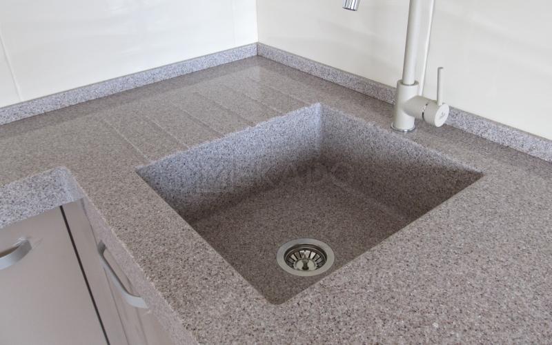 Мийки з штучного каменю у ванну, на кухню