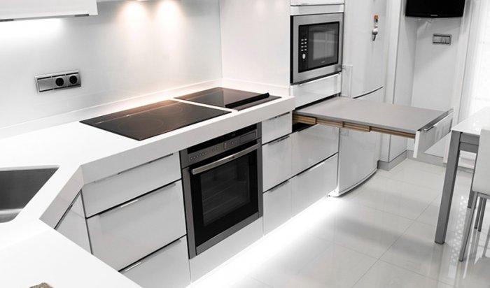Кухня в стилі хай-тек: ідеї дизайну