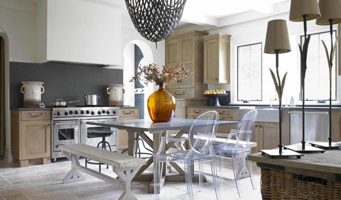 Як на кухні поєднати різні стилі