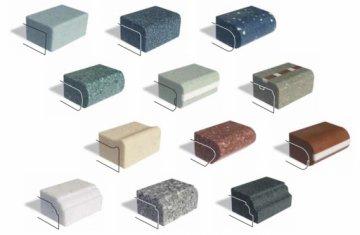 Кромки и бортики столешниц из искусственного камня