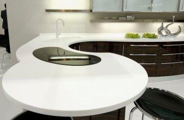 Чому акриловий камінь на кухні вам сподобається?