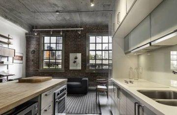 Как создать кухню в стиле лофт